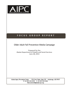 Fall Prevention Focus Group Report