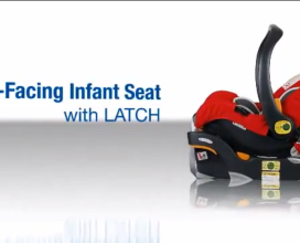 Rear-Facing Seat with LATCH