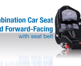 Fwd-Facing Combo with a Seat Belt