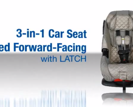3-in-1 Fwd-Facing Seat with LATCH